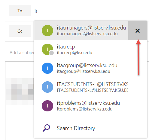 Knowledge - Outlook Web App: Deleting an Auto Complete Address